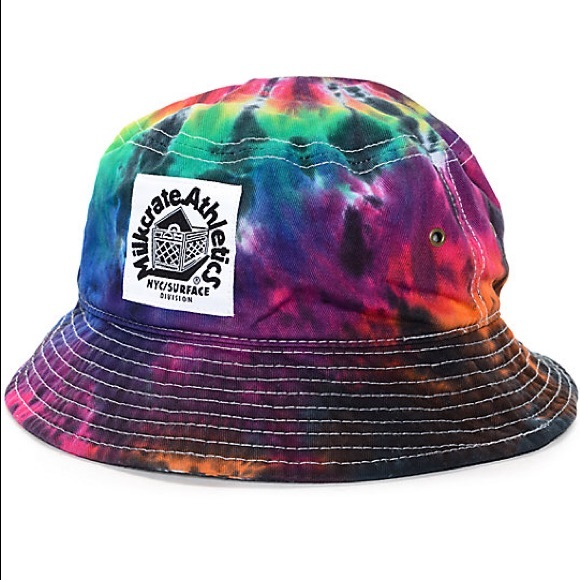 894d74abc Milkcrate athletics tie-dye bucket hat